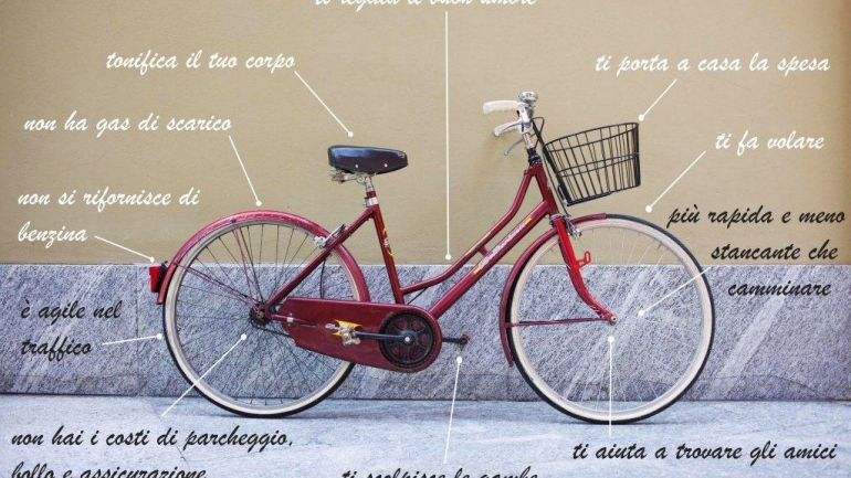 Come mettere via la bicicletta