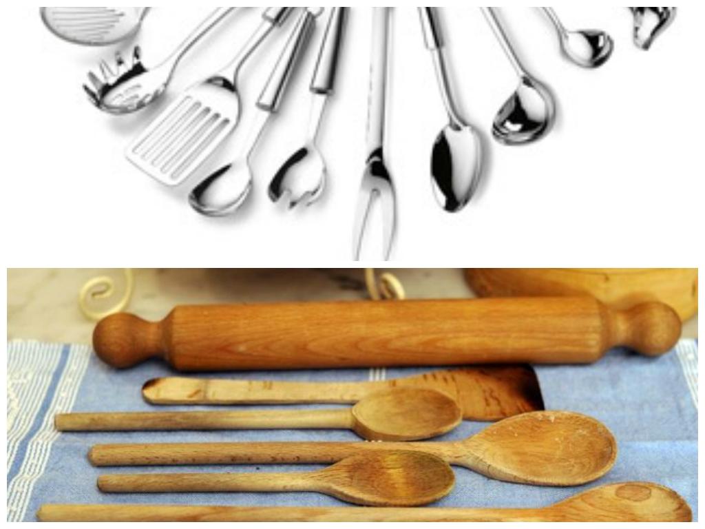 cinque utensili più usati in cucina