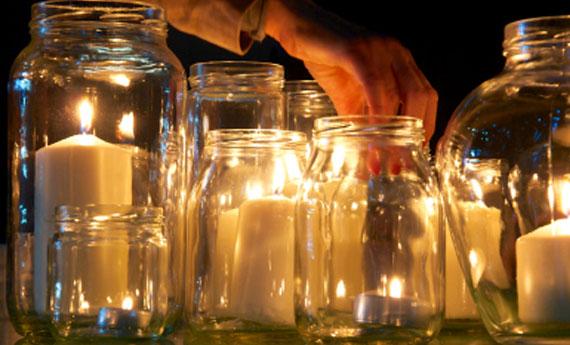 Come creare un porta candele
