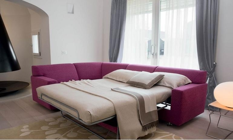 Emergenza ospiti: il divano letto