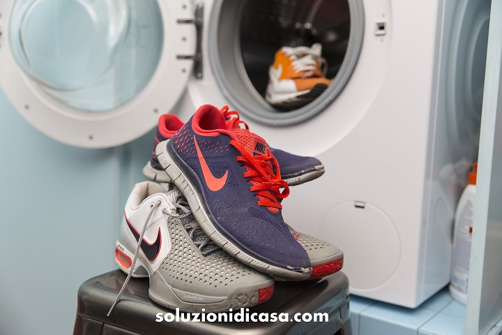 come lavare scarpe da ginnastica nike