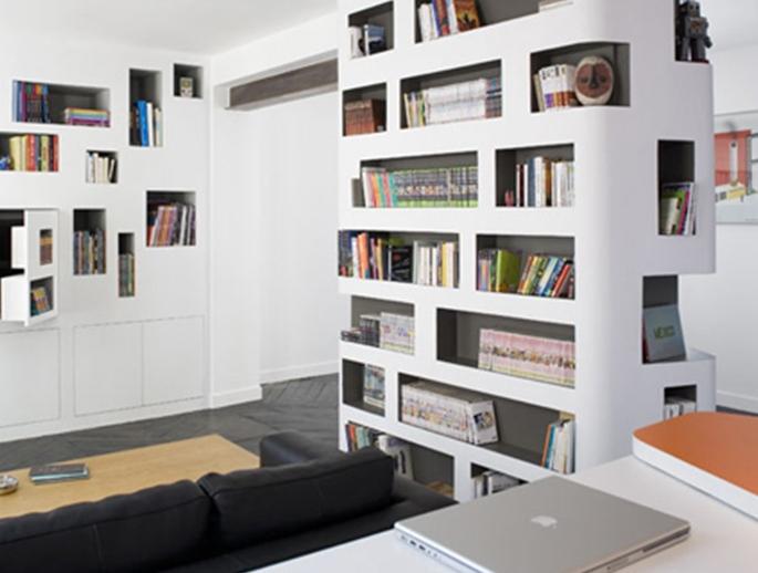 Come creare libreria sfruttando le nicchie di casa