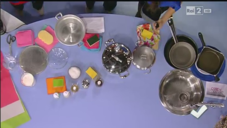 Come pulire le pentole in alluminio e in acciaio inox
