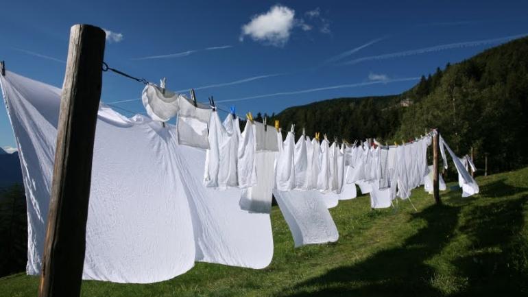 Come stendere le lenzuola