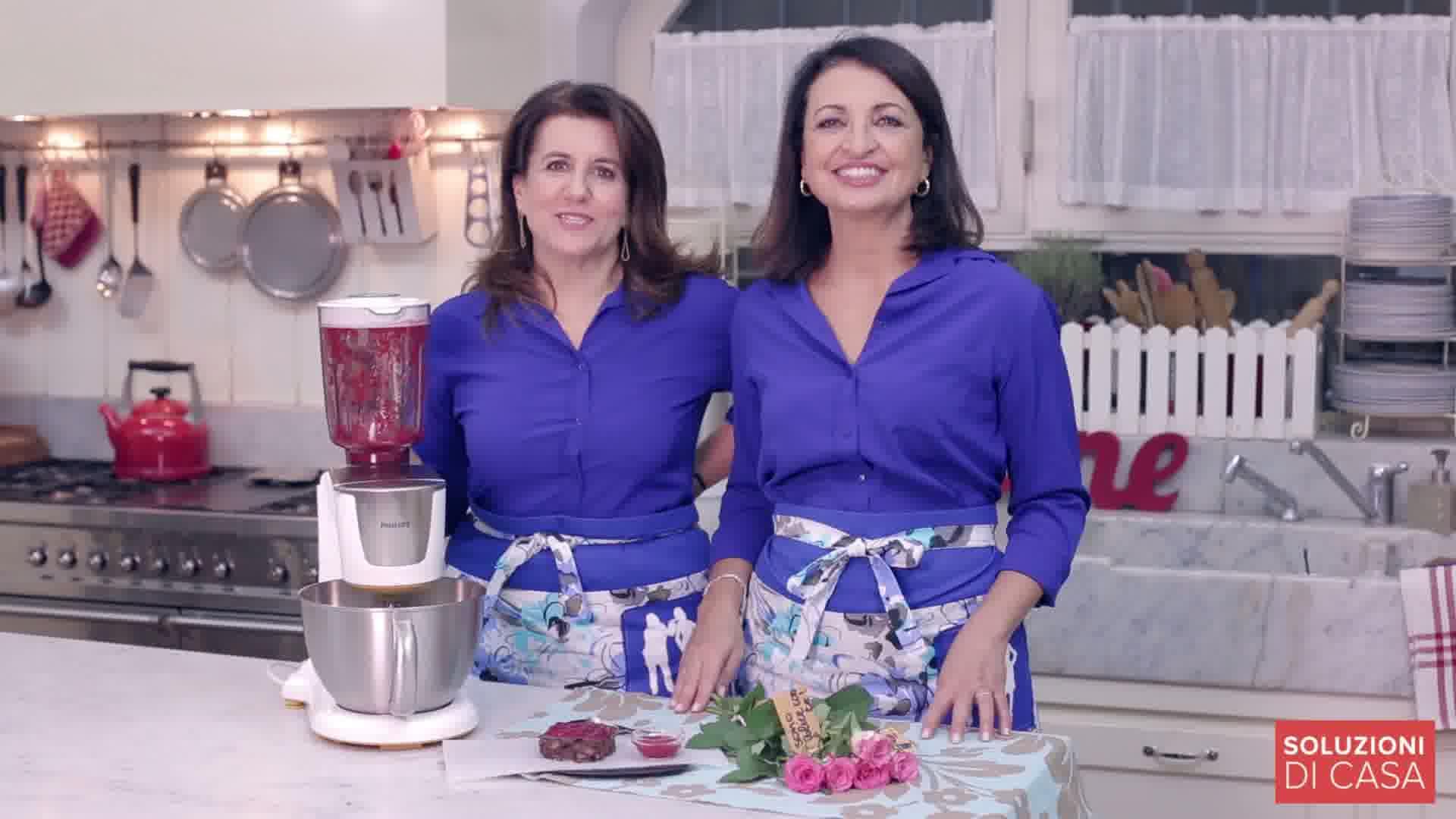 Philips Kitchen Machine e la soluzione regala i fiori