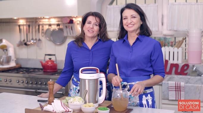 Philips Soup Maker e la soluzione erbe aromatiche in tavola