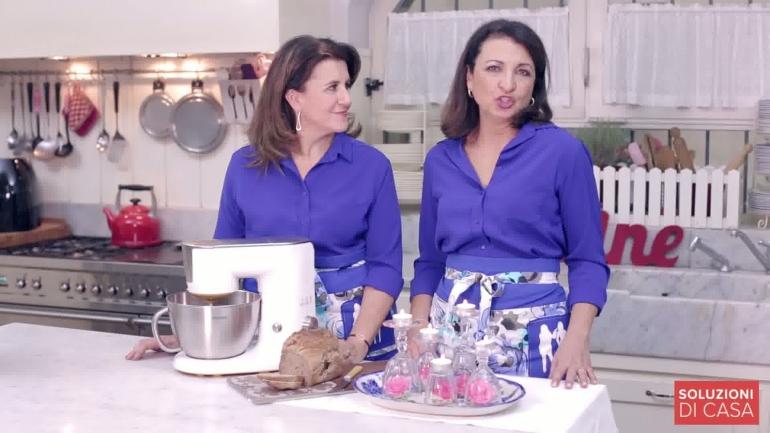Philips kitchen Machine e la soluzione centrotavola con i bicchieri