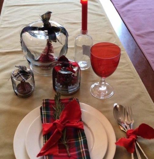 Come decorare la tavola di Natale