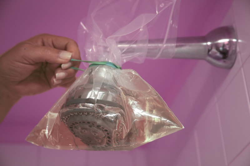 Come eliminare il calcare dal soffione