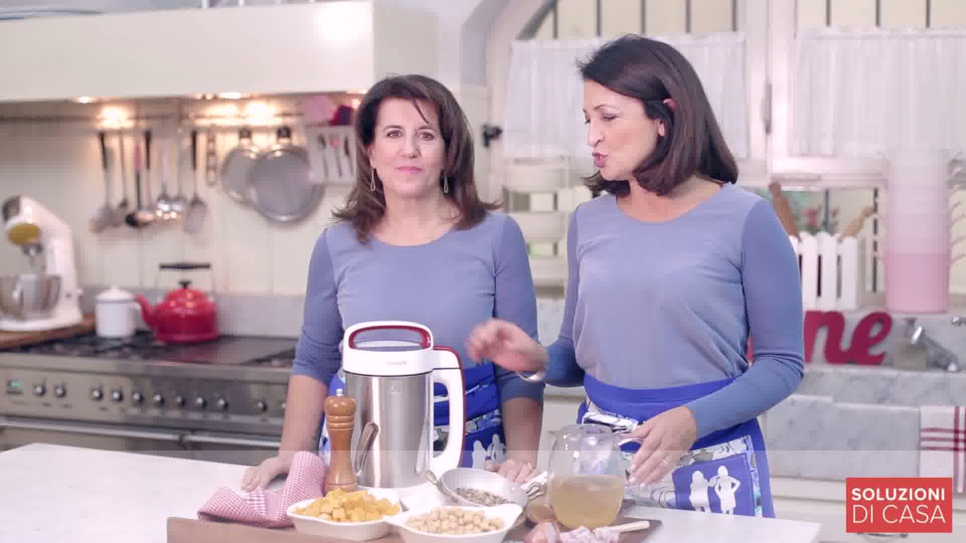 Philips Soup Maker e la soluzione tovaglietta all'americana