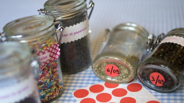 Come organizzare le spezie