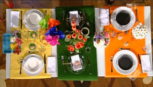 come apparecchiare la tavola di Pasqua