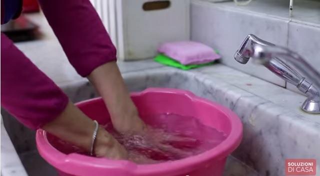 lavare la lana a mano