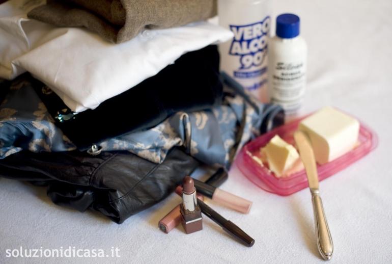 Come eliminare le macchie di rossetto