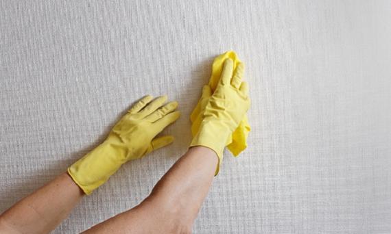come pulire le pareti