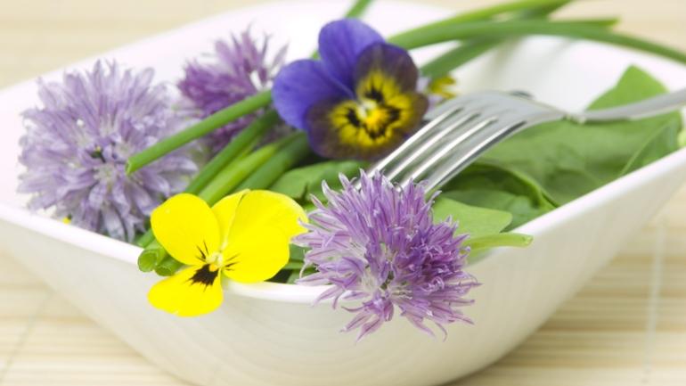 i fiori commestibili