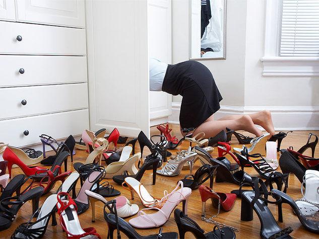 come ordinare e pulire le scarpiere