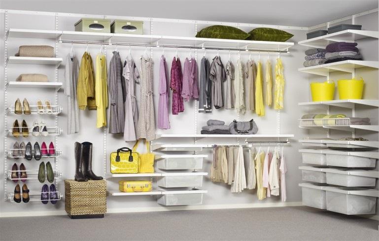 come organizzare la cabina armadio