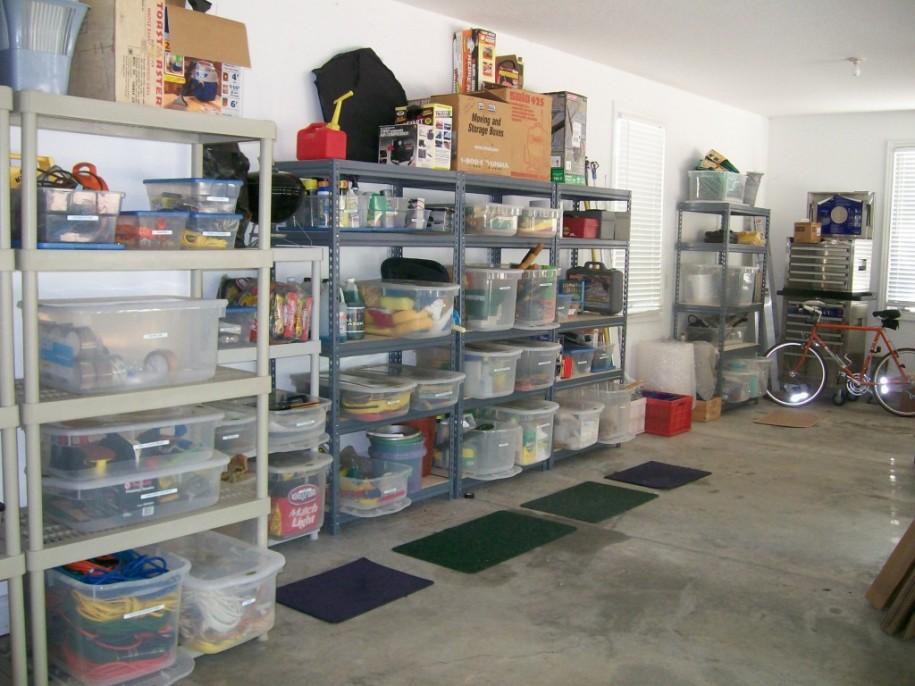 come pulire e organizzare il garage